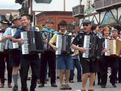 Leavenworth Accordion Celebration Parade 2012